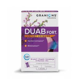 Granions  Duab fort confort urinaire - 7 sachets