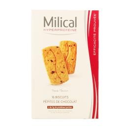 Hyperprotéiné pépites de chocolat - 16 biscuits