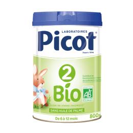 Picot 2ème âge Bio dès 6 mois - 800g