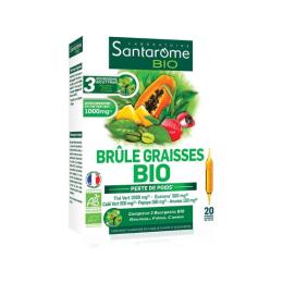 Santarome Brûle Graisses BIO - 20 ampoules