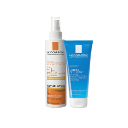 La Roche Posay Anthelios XL spray - 200ml + Gel lavant Lipikar 100ml OFFERT
