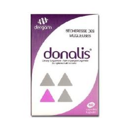 Donalis 60 capsules (DERGAM)