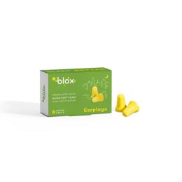 Blox mousse conique bouchons d'oreille anti-bruit - 4 paires