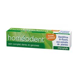 Boiron Homéodent Soin complet dents et gencives Chlorophylle format voyage - 25ml