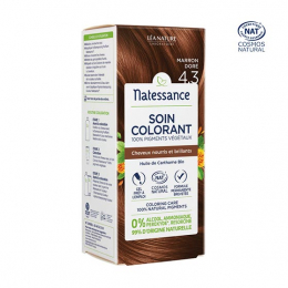 Natessance Soin colorant Marron doré 4.3