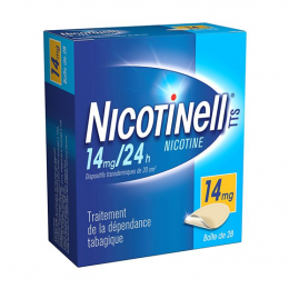 Nicotinell TTS 14mg/24h 28 patchs