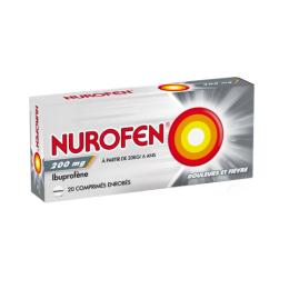 Nurofen 200mg  - 20 comprimés enrobés