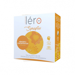 Léro synaptiv concentration intellectuelles - 30 capsules