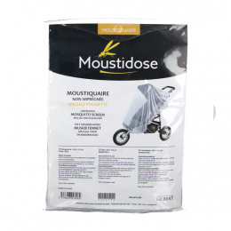 Moustidose Moustiquaire spéciale poussette - 145x115cm