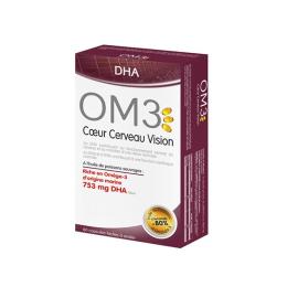 OM3 Coeur Cerveau Vision - 60 capsules