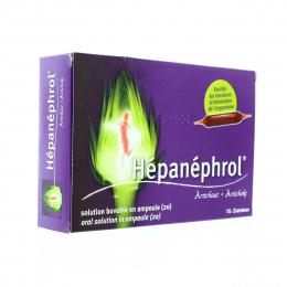 Hepanephrol Solution Buvable 20 Ampoule - 10ml