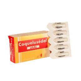 Coquelusedal adultes suppositoires - x10