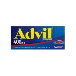 AdvilTab 400 mg - 14 Comprimés Enrobés