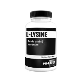 L-Lysine acide aminé essentiel - 56 gélules