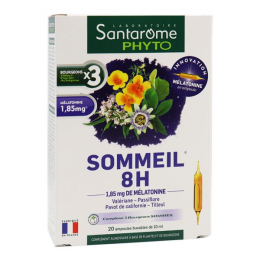 Santarome Phyto - Sommeil 8H - 20 ampoules