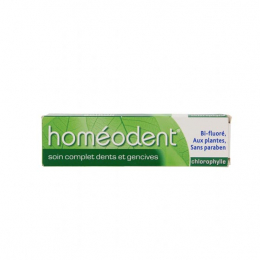 Boiron Homéodent Dentifrice Soin complet Dents et Gencives Chlorophylle - 75ml