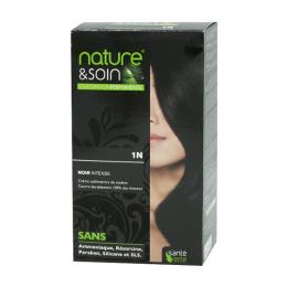 Santé Verte nature & soin coloration permanente - Noir intense 1N