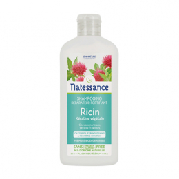 Natessance Shampooing réparateur fortifiant huile de ricin - 250ml