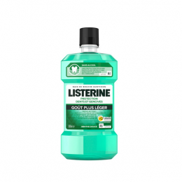 Listerine Protection Dents et Gencives Goût Plus Léger -250ml