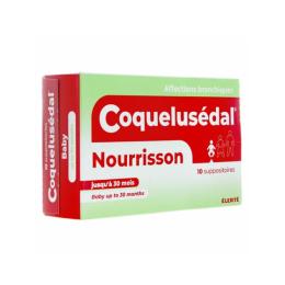 Coquelusedal suppositoire nourrissons  - x10