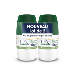 Etiaxil Déodorant végétal 24h - 2x50ml