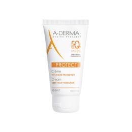 A-derma Protect crème très haute protection spf50+ - 40ml