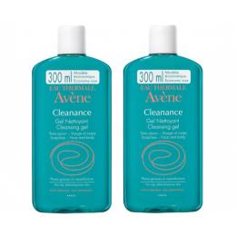 Avène Cleanance gel nettoyant - 2x300ml