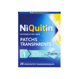 Niquitin 21mg/24 heures dispositif transdermique - 28 patchs