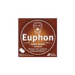 Euphon pastilles sans sucre -x70 pastilles