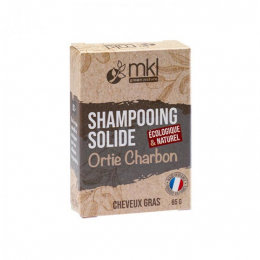 MKL Shampooing solide Orties Charbon - 65g