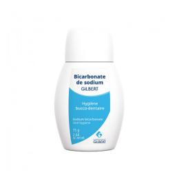 Gilbert Dentidose Bicarbonate de sodium - 75g
