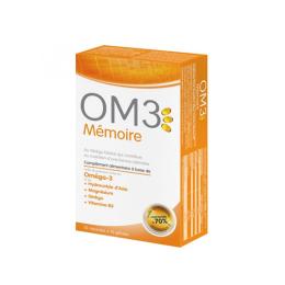 OM3 Mémoire - 15 Capsules + 15 Gélules
