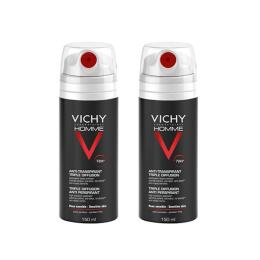 Vichy Homme Déodorant Anti-Transpirant Triple Diffusion - 2x150ml