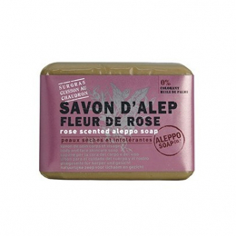 Aleppo soap co Savon d'Alep Fleur de rose - 100g
