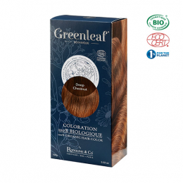 Greenleaf botanique Coloration BIO DeepChestnut (Chatain intense) - 100g