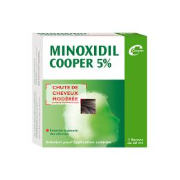 Minoxidil Cooper 5% - 3x60ml