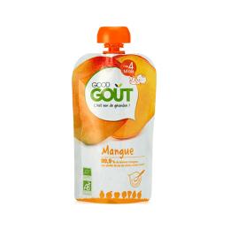 Good Gout Purée de fruits BIO Mangue - 120g