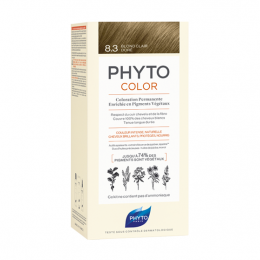 Phyto Phytocolor Kit de coloration permanente  8.3 Blond clair doré