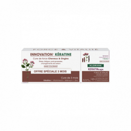 Klorane Keratincaps - 3x30 gélules