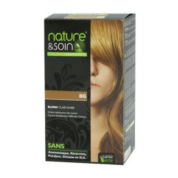 Santé Verte nature & soin coloration permanente blond clair doré 8G - 129ml