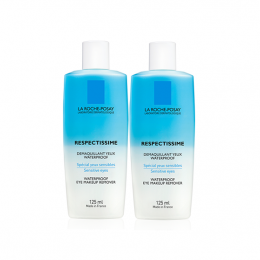 La Roche Posay Respectissime démaquillant yeux waterproof - 2x125ml