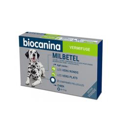 Biocanina Milbetel Chien - 2 comprimés