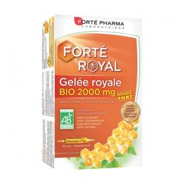 Forté Pharma Gelée royale 2000mg BIO - 20 ampoules