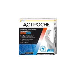 Cooper Actipoche Coussin thermique Microbilles Zones ciblées