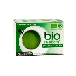 Thé vert à la menthe - 20 sachets