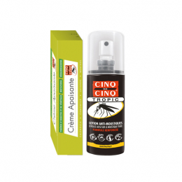 Cinq sur cinq Spray Tropic - 75ml + Crème apaisante - 15ml