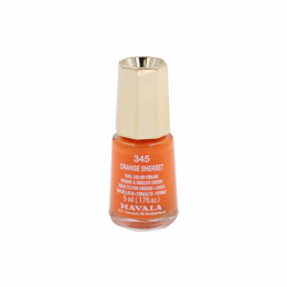Mavala Mini color vernis à ongles crème 345 Orange Sherbet – 5ml