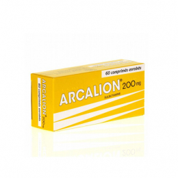 Servier Arcalion 200 mg - 60 comprimés enrobés