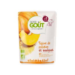 Good Gout Plat BIO Tajine potiron et boulgour - 190g