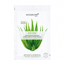 Eco Secret Masque visage Hydratant intense à l'extrait naturel d'Aloe vera